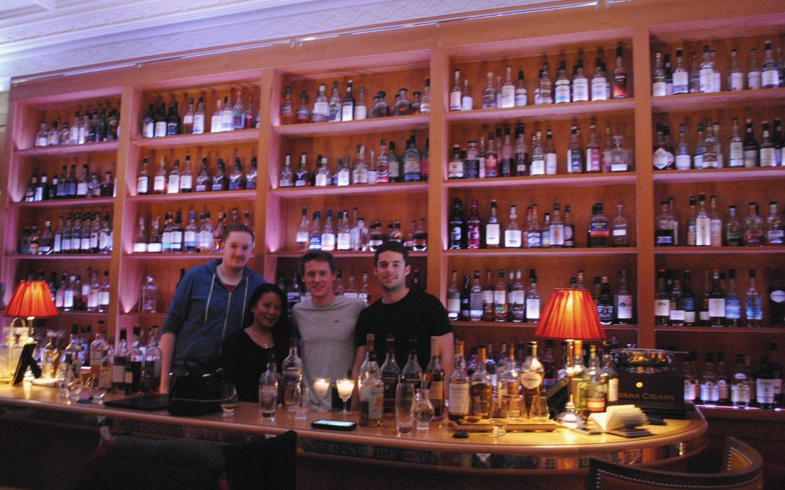 Whisky tastes better when it is enjoyed with people who share a passion for the drink.