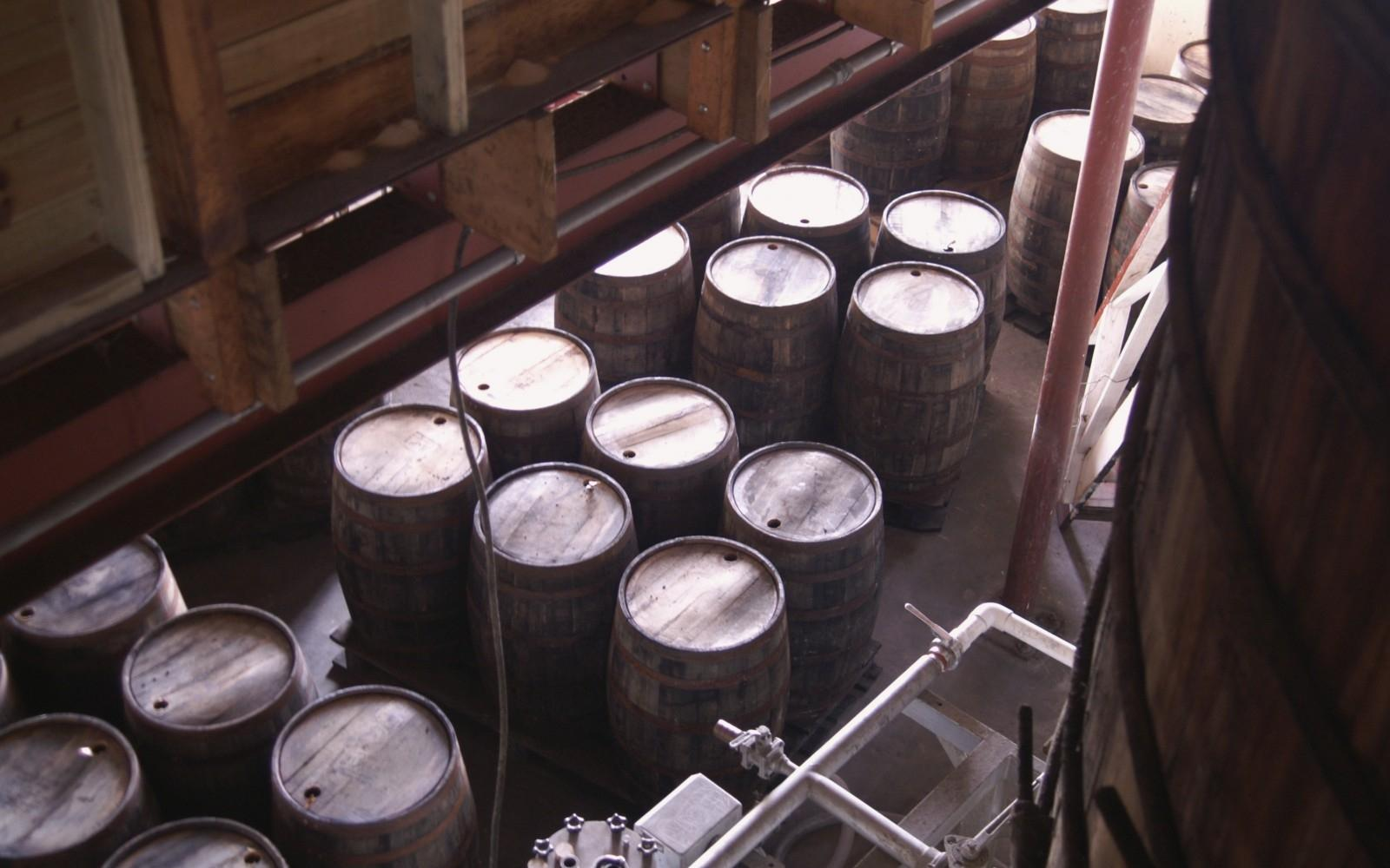 Barrels of Rum at the Mt. Gay Rum plant, Bridgetown, Barbados - Photo: Flickr/ reivax