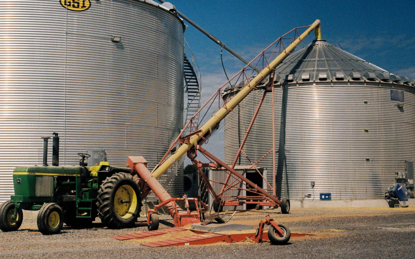 Most of the corn grown in the US goes for ethanol in oil production.