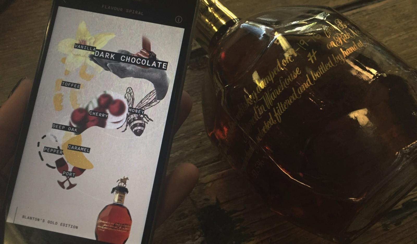 Blanton's Gold Edition Flavor Spiral