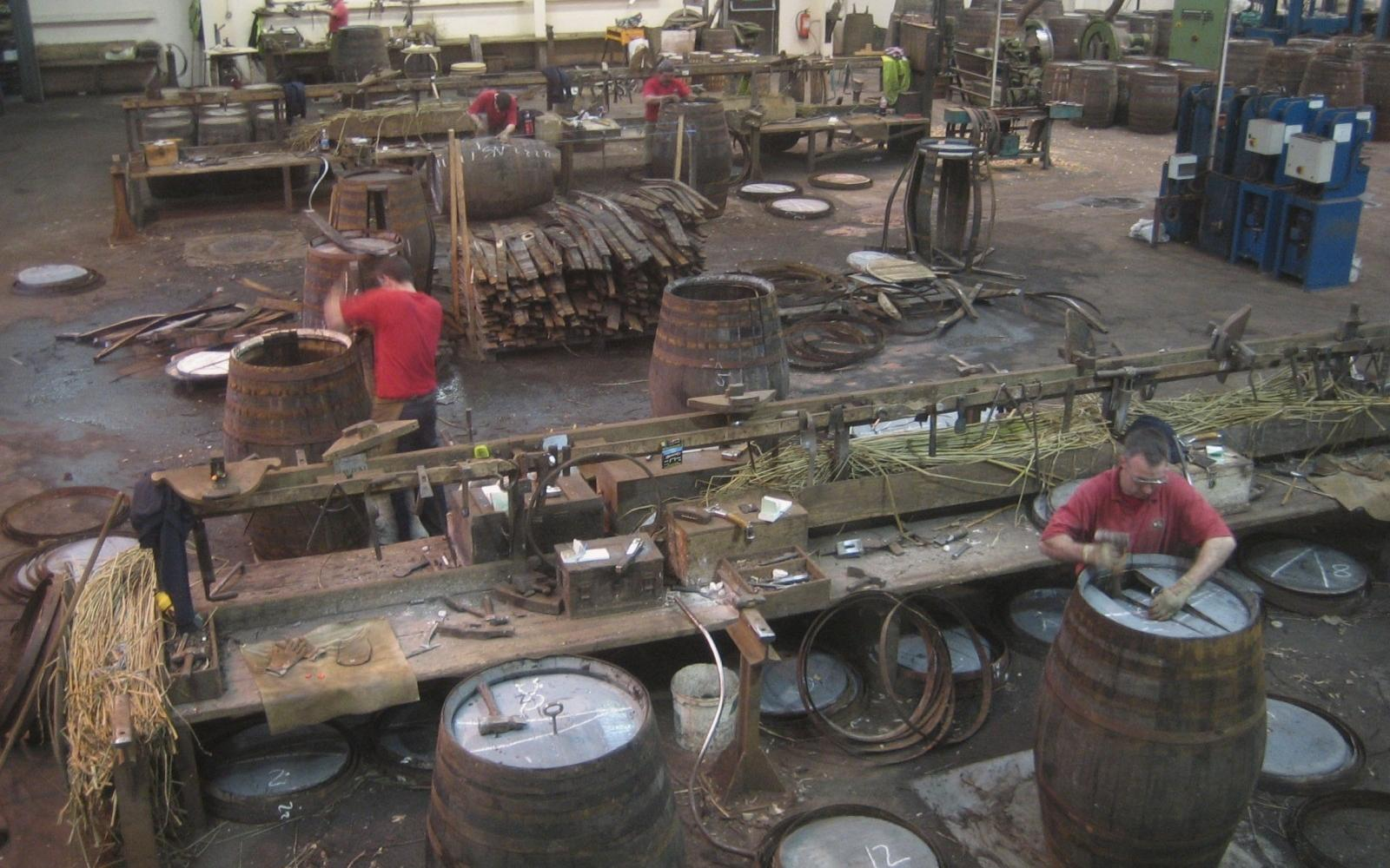 Speyside Cooperage - Photo: Wikimedia Commons / Anton lecram