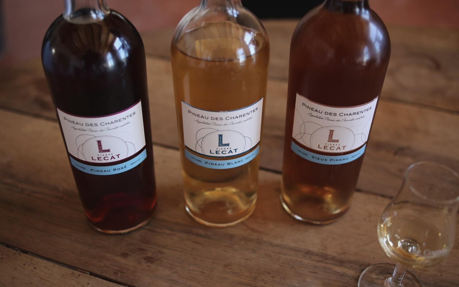 Pineau des Charentes from Lecat