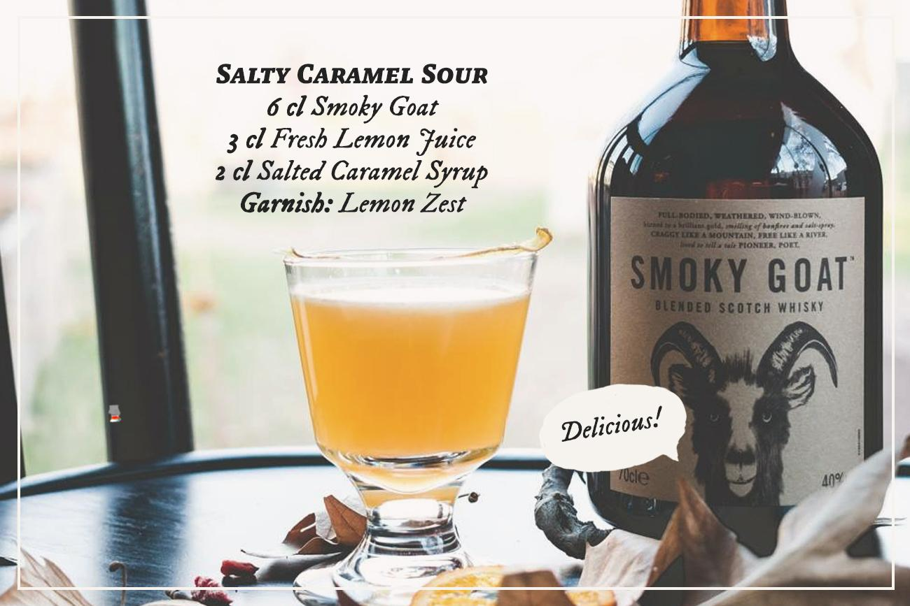 Salty Caramel Sour with the Smoky Goat