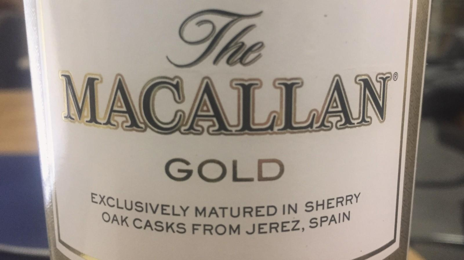 The Macallan - Exclusively matured in Sherry oak casks