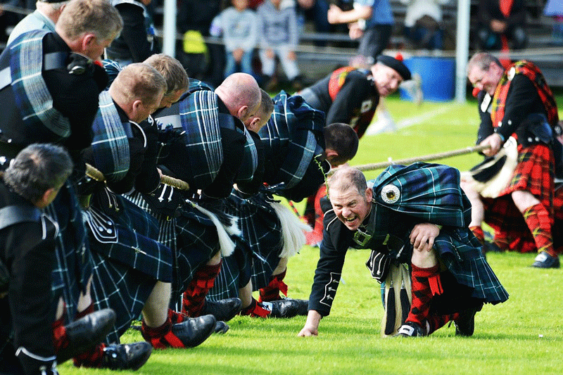 Highland games / Photo: Flickr - mike_elleray