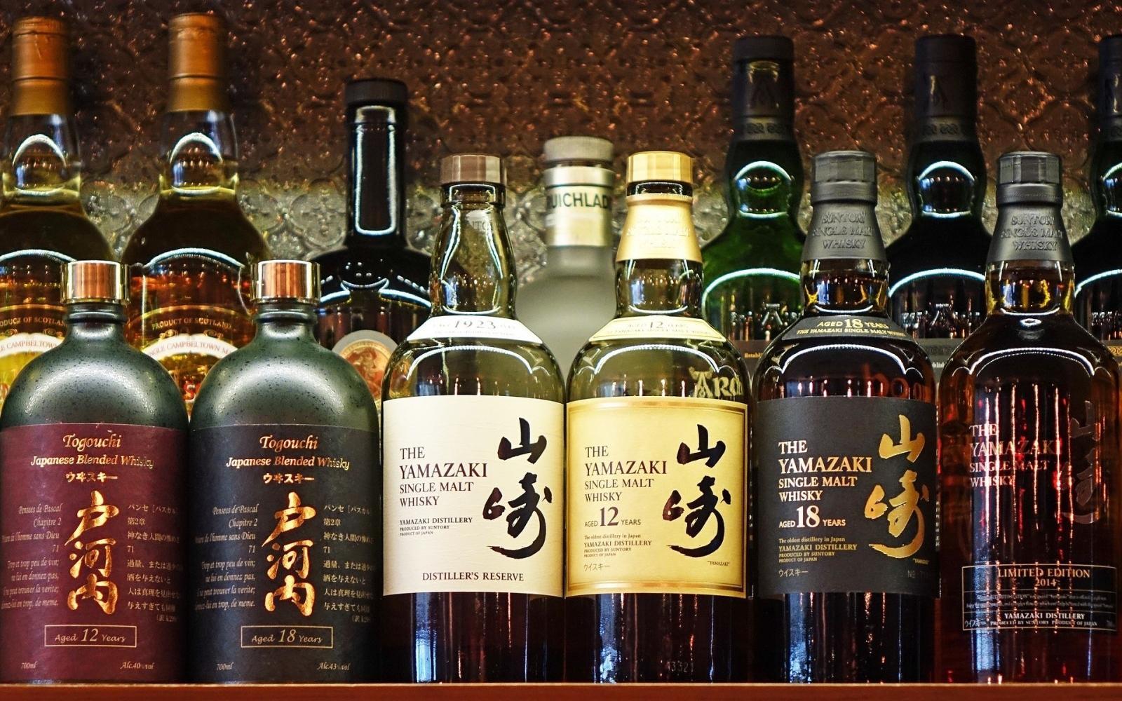Yamazaki Whisky. Source: Pixabay/cegoh