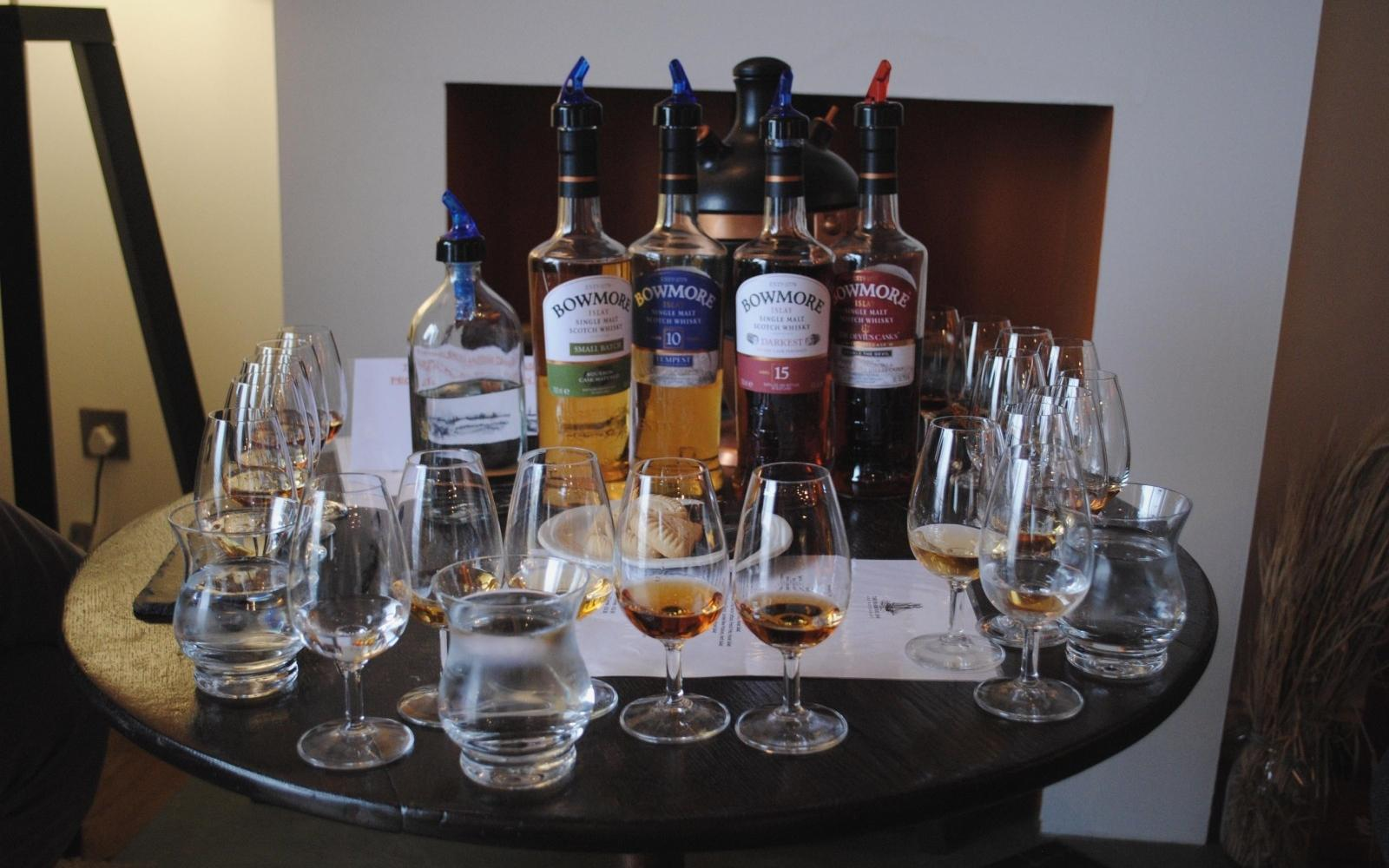 Bowmore Whisky & Chocolate pairing