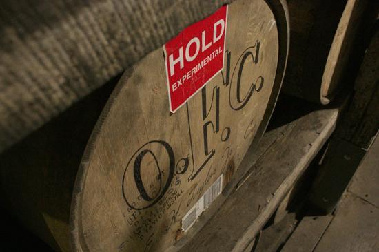 Bourbon experiments at Buffalo Trace