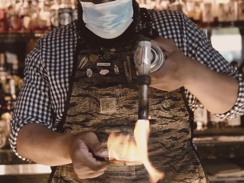 Gregory Rodriguez, Bartender