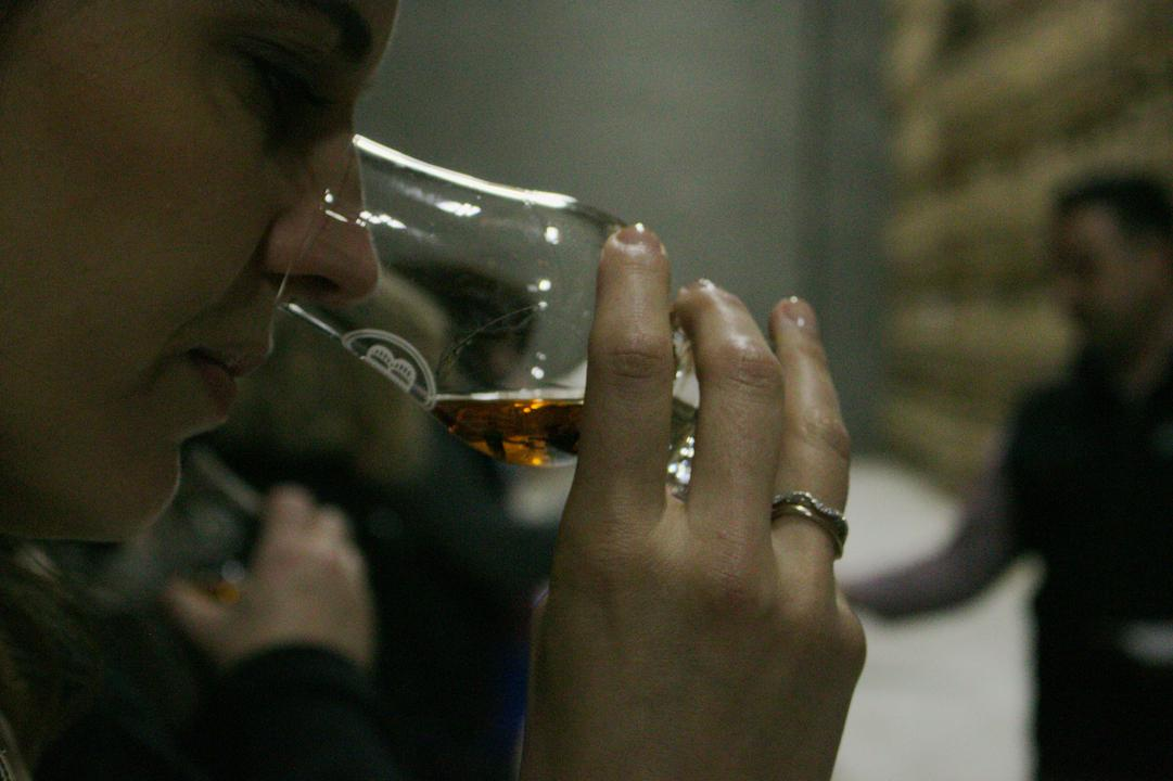 Whiskey drinkers always pass the smell test.