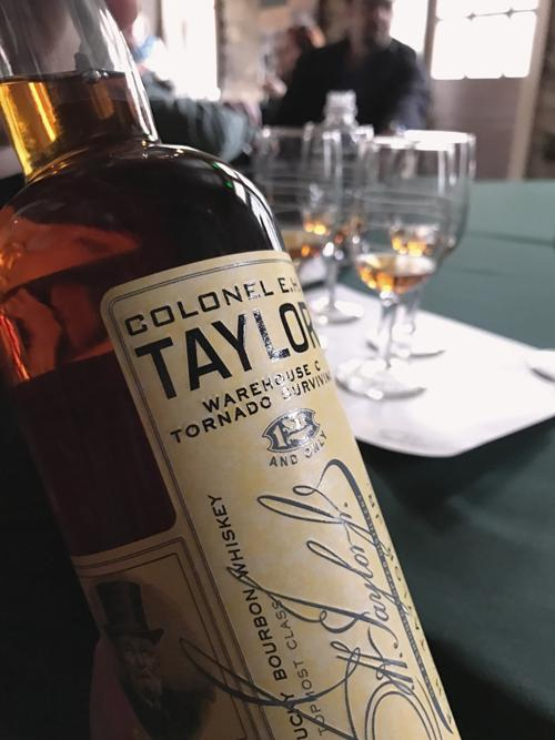 Colonel E.H. Taylor Jr. Warehouse C Tornado Surviving Bourbon