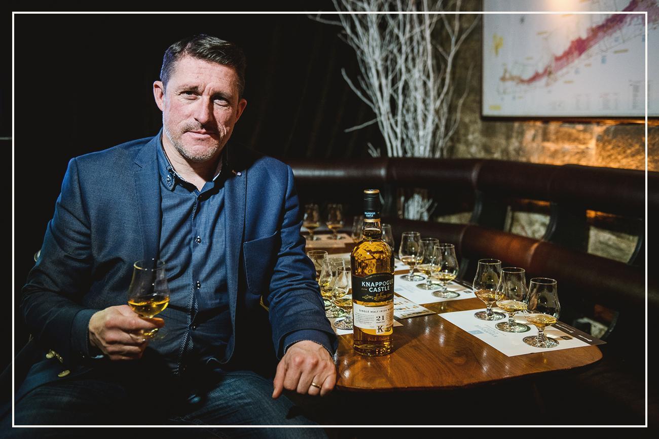 Tony Carroll, Castle Brands Spirits' European sales manager