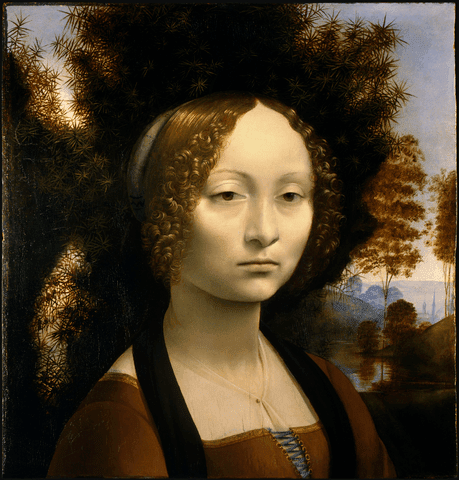Leonardo da Vinci: Portrait of Ginevra de? Benci
