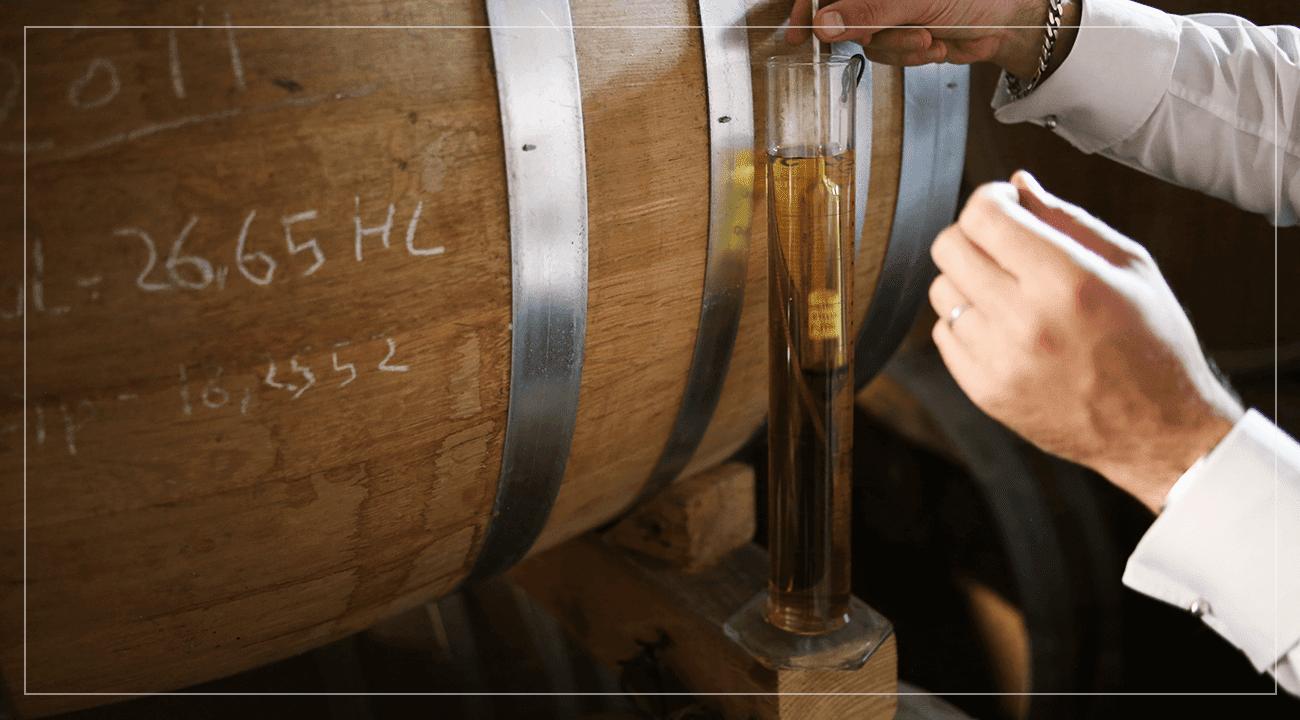 Cognac Oak Barrel
