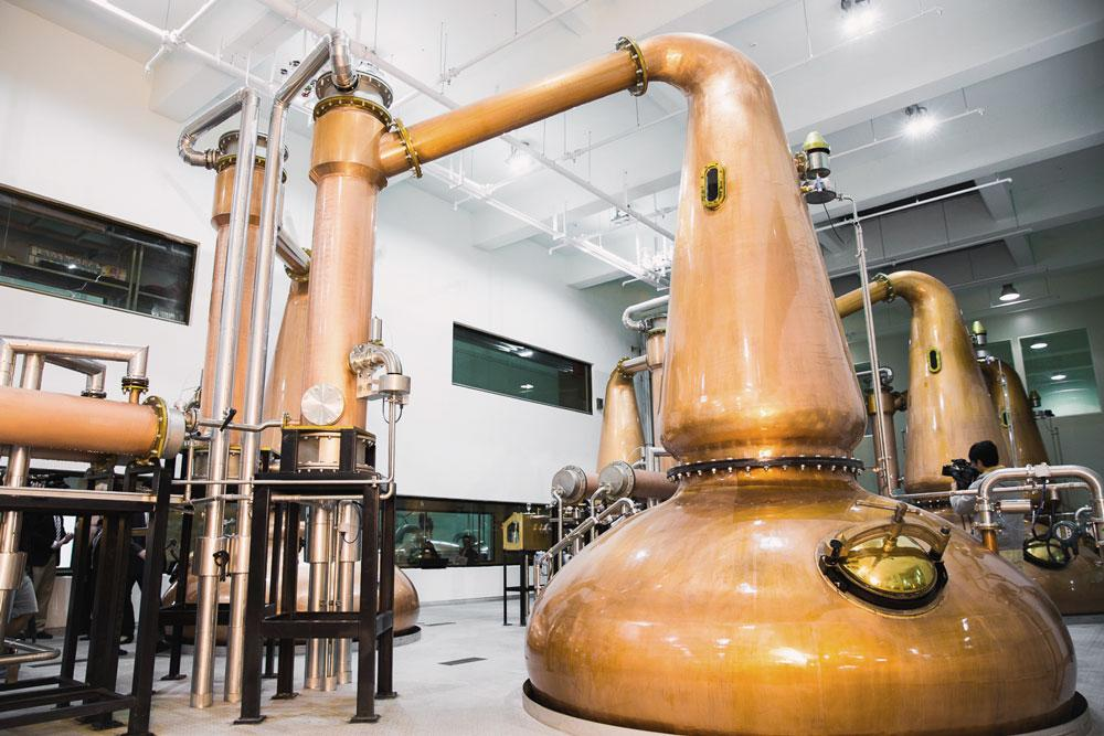 Still in the Kavalan King Car distillery - Photo: Kavalan Distillery