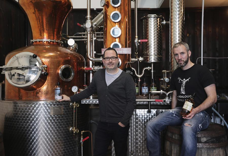Gary and Barry, two of five Glendalough founders - Photo: Glendalough Distillery