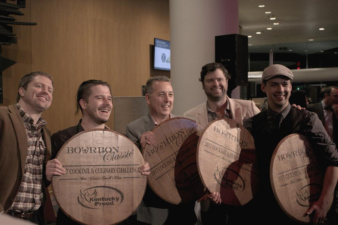 Winners of Cocktail & Culinary Challenge at Bourbon Classic 2016