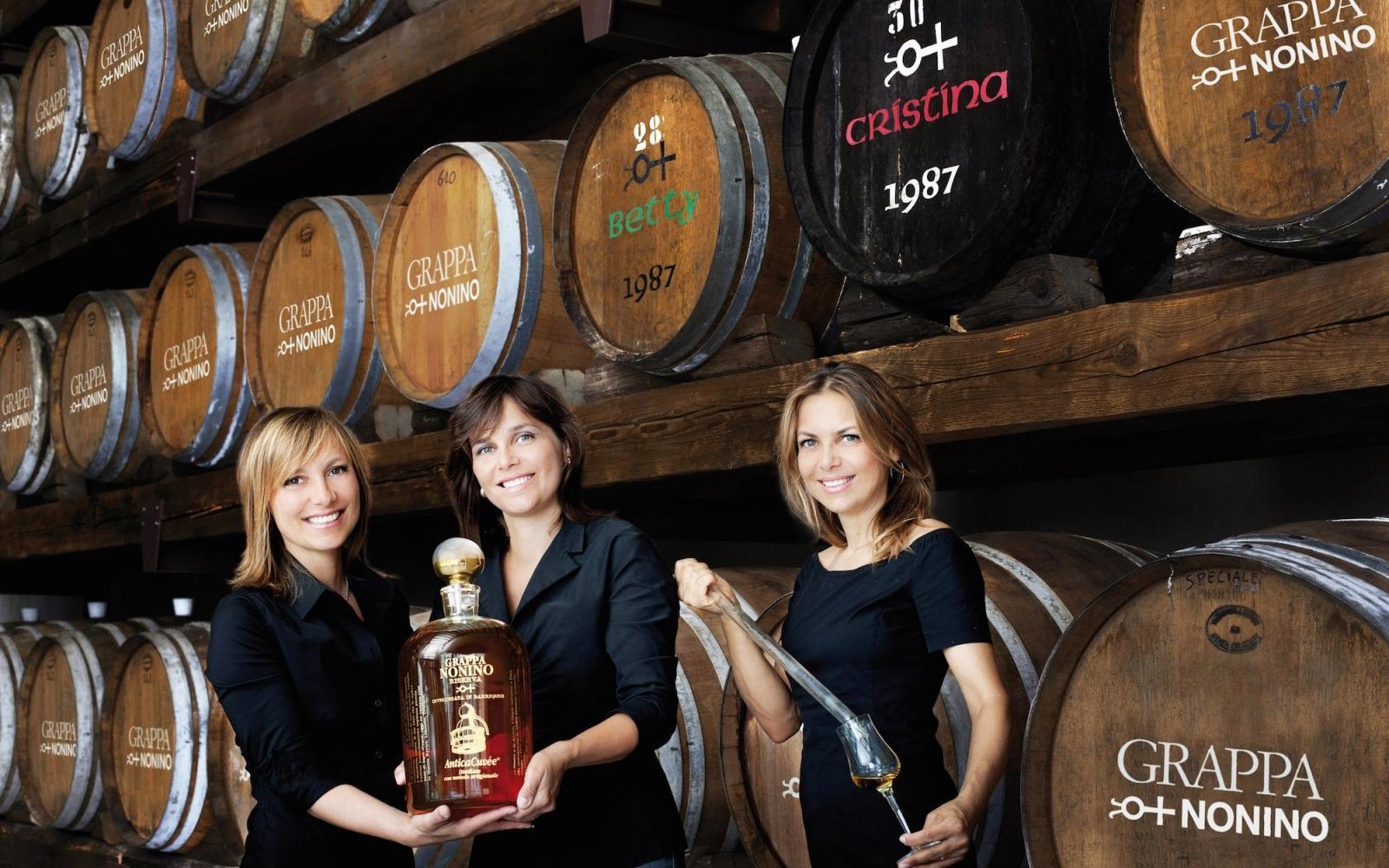 Sisters Antonella, Elisabetta and Cristina Nonino - Photo: Nonino