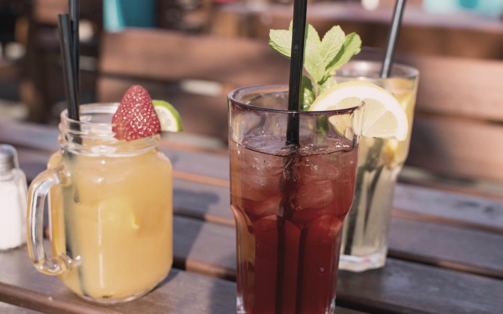 Avoid overly sweet drinks