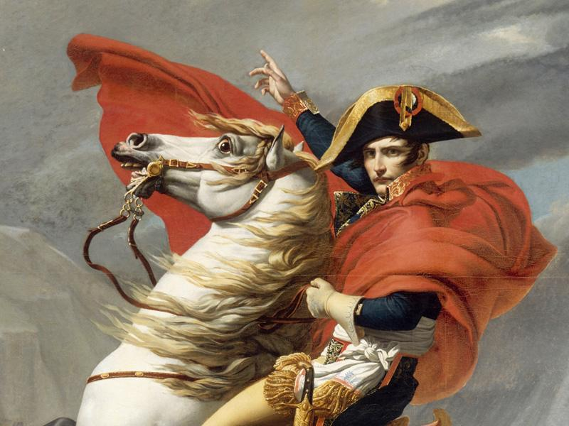Napoleon / painting by Jacques Louis David