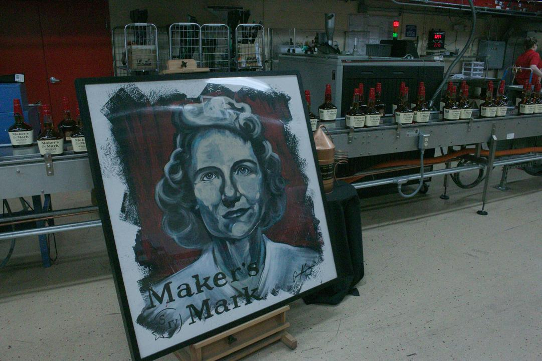 Portrait of Margie Samuels at Maker's Mark - Photo: Flaviar