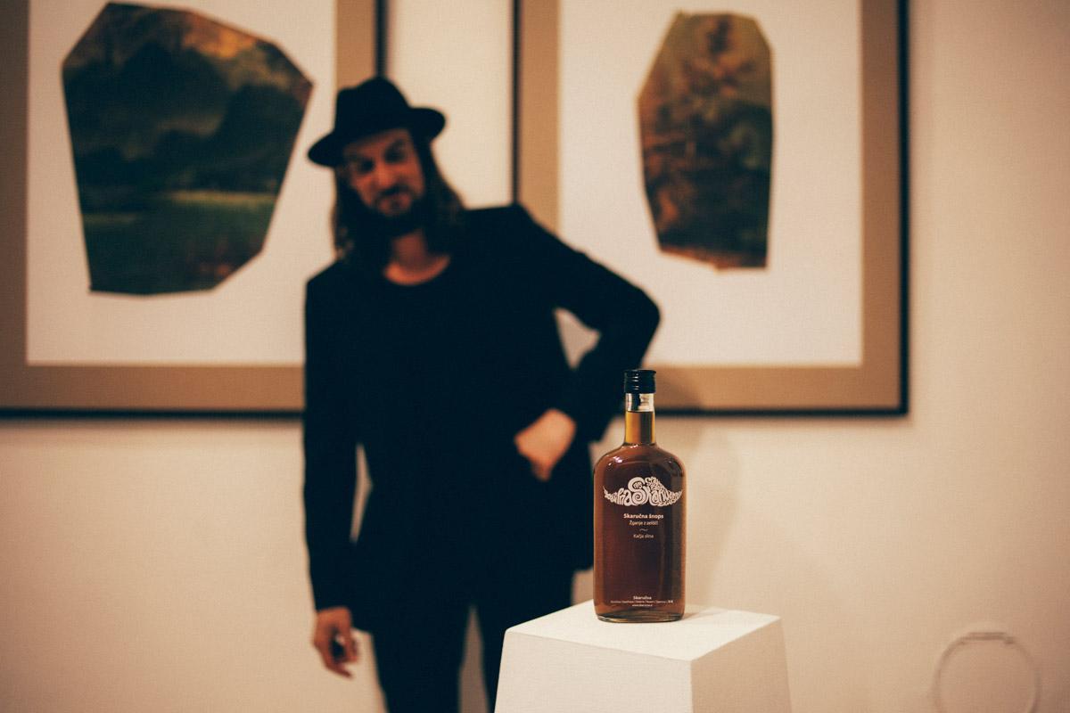 Jasa with Skarucna Serpent's Spit, Venice Biennale