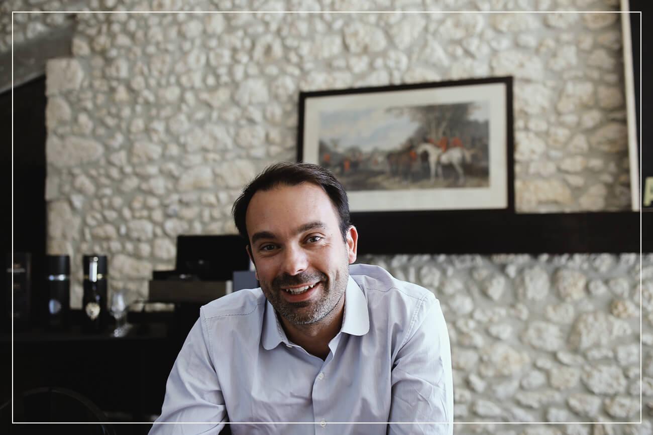 Julien Nau, the 6th generation Cognac producer