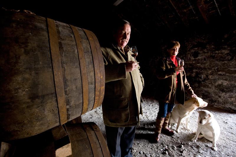 John Grant and his wife - Photo: Glenfarclas Distillery