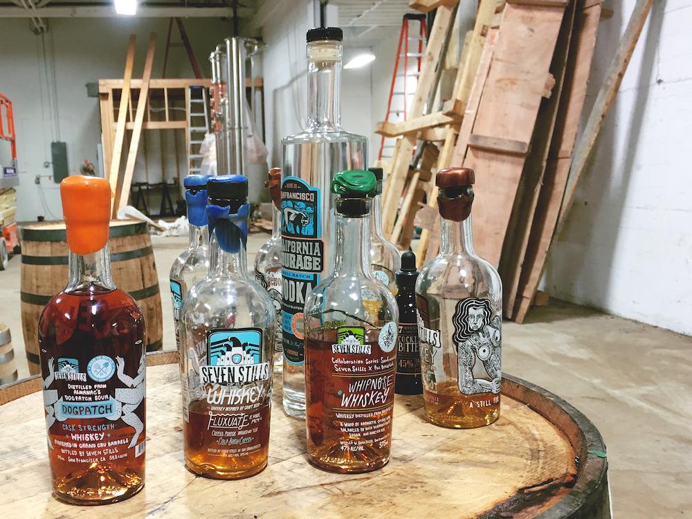 7 Stills of SF Whiskey Portfolio