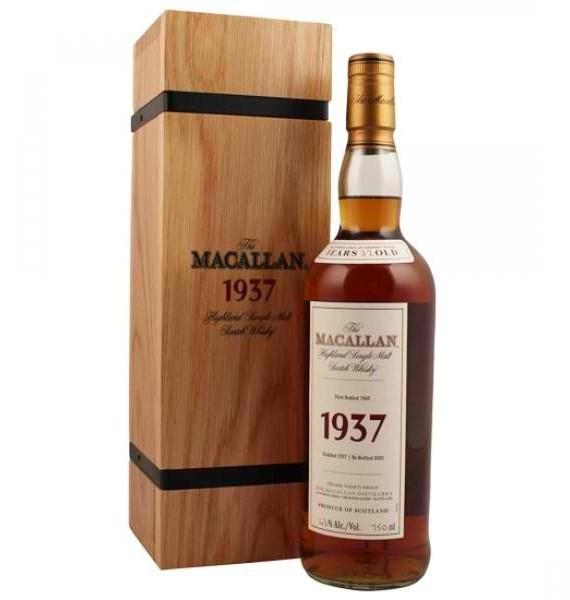 The Macallan Fine and Rare 1937