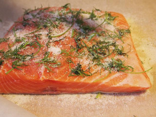 Cured salmon - Photo: Flickr/myrtii