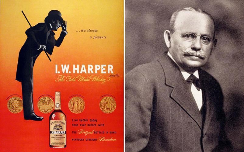 Isaac Wolfe Bernheim, founder of the I. W. Harper brand of premium Bourbon - Photo: firstwefeast.com
