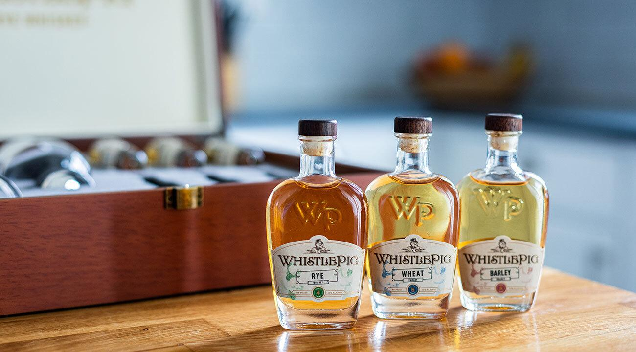 Rye, Wheat, and Barley Whiskey
