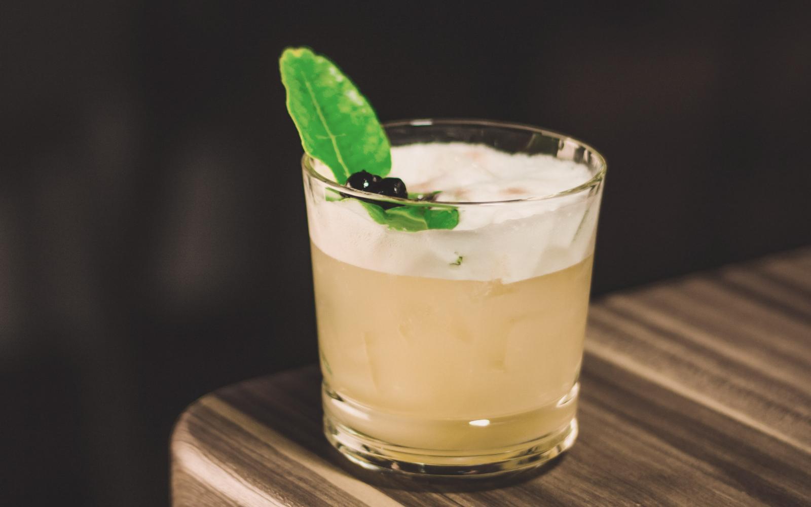 Shamrock Gin Sour