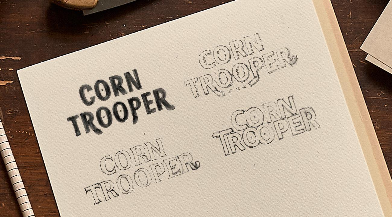 Corn Trooper Font