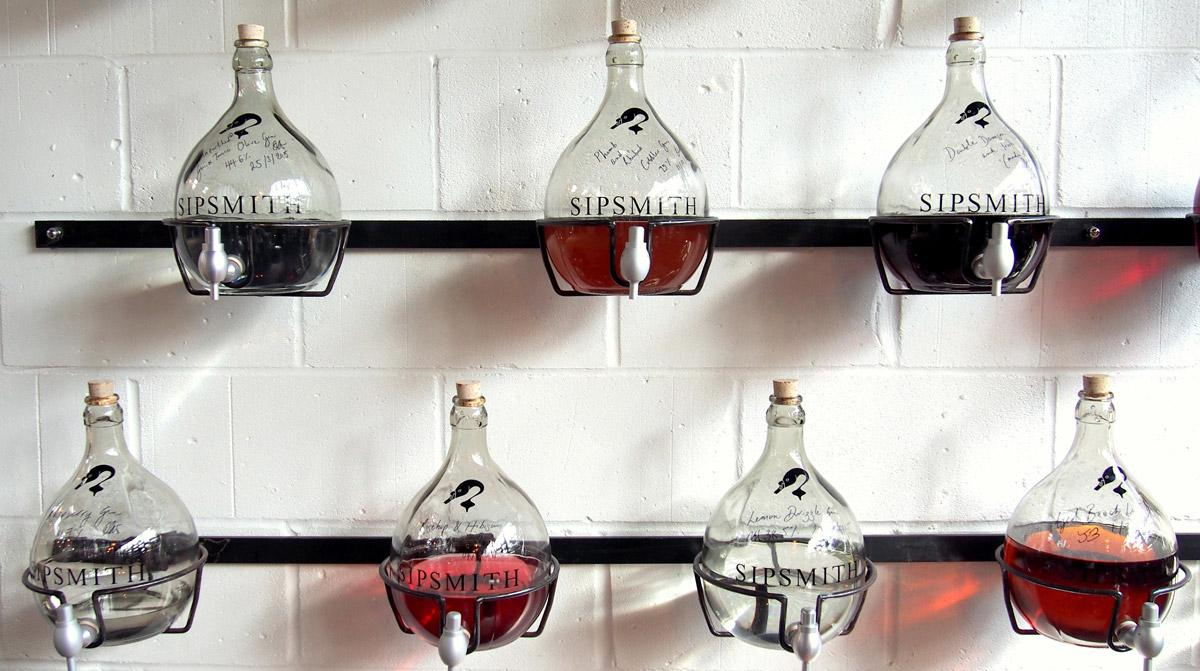 Sipsmith Gin Flavour Testing / Photo: Sipsmith