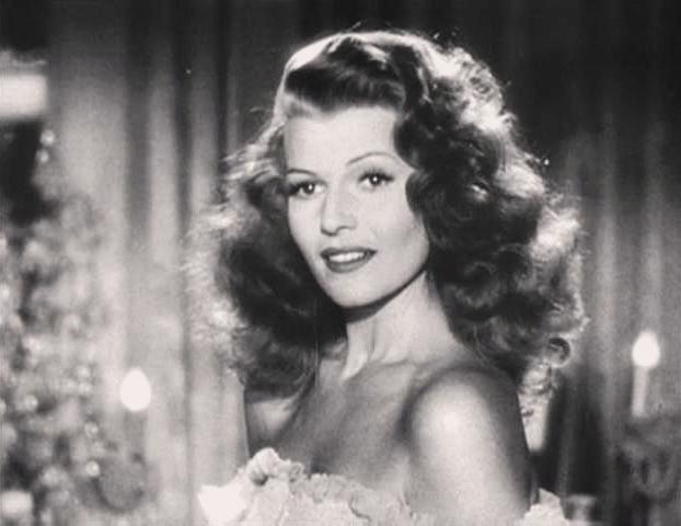 Rita Hayworth in the Gilda trailer. Source: Wikimedia