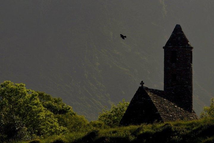 One of the Glendalough Churches - Photo: Glendalough Distillery