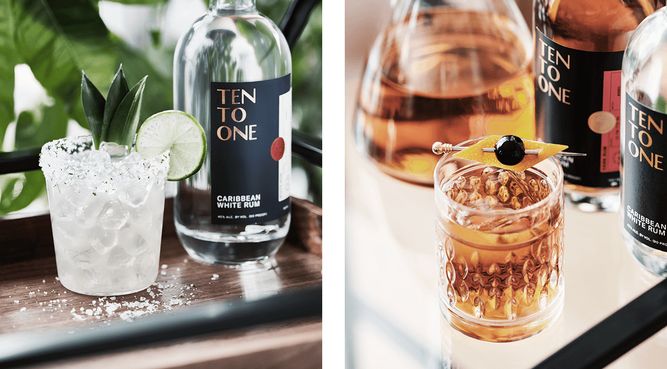 Ten To One Rum Cocktails