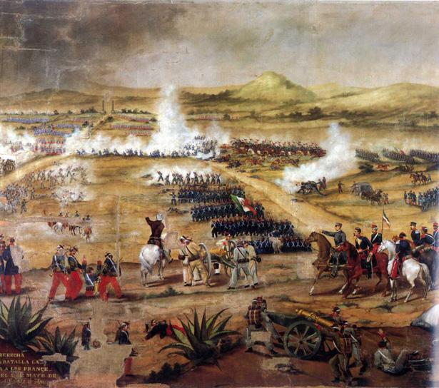 Cinco de Mayo Battle / Photo source: Wikimedia