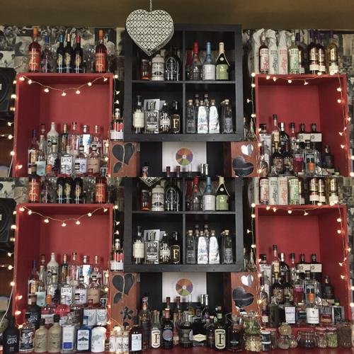 The Oliver Conquest Gin selection