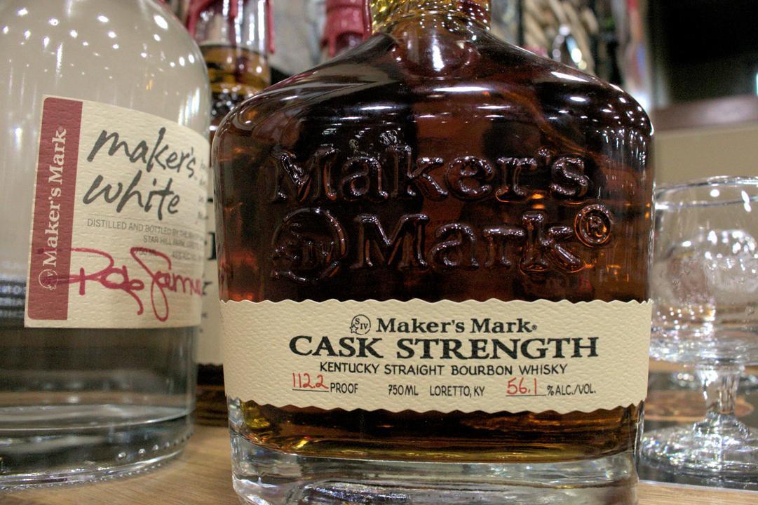 MAKER?S MARK CASK STRENGTH KENTUCKY STRAIGHT BOURBON