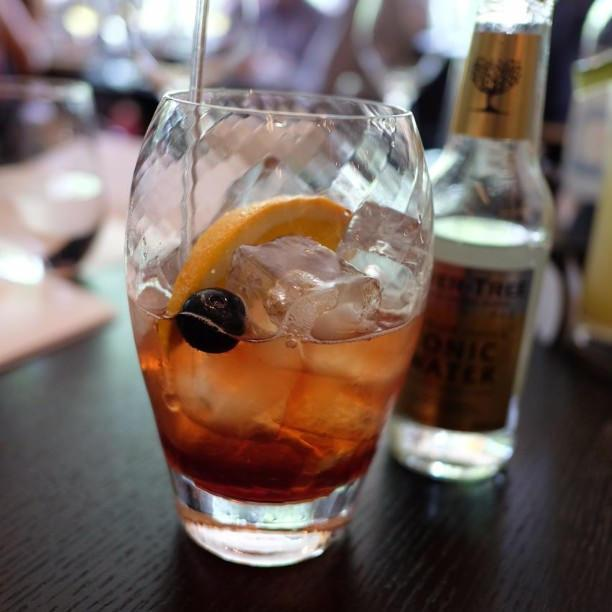 Sloe Gin with tonic - Photo: Flickr/lachlanhardy